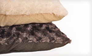 Furhaven NAP Faux Fur Pet Pillows (Up to ). Multiple Colors and Sizes Available. Free Shipping and Free Returns
