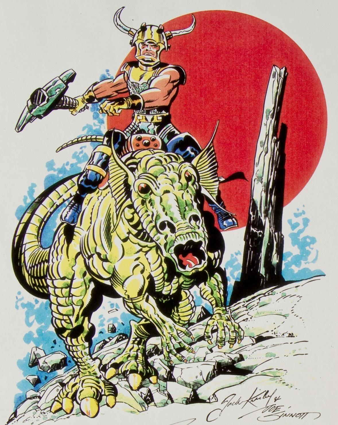 Cap'n's Comics: Kosmic Jack Kirby