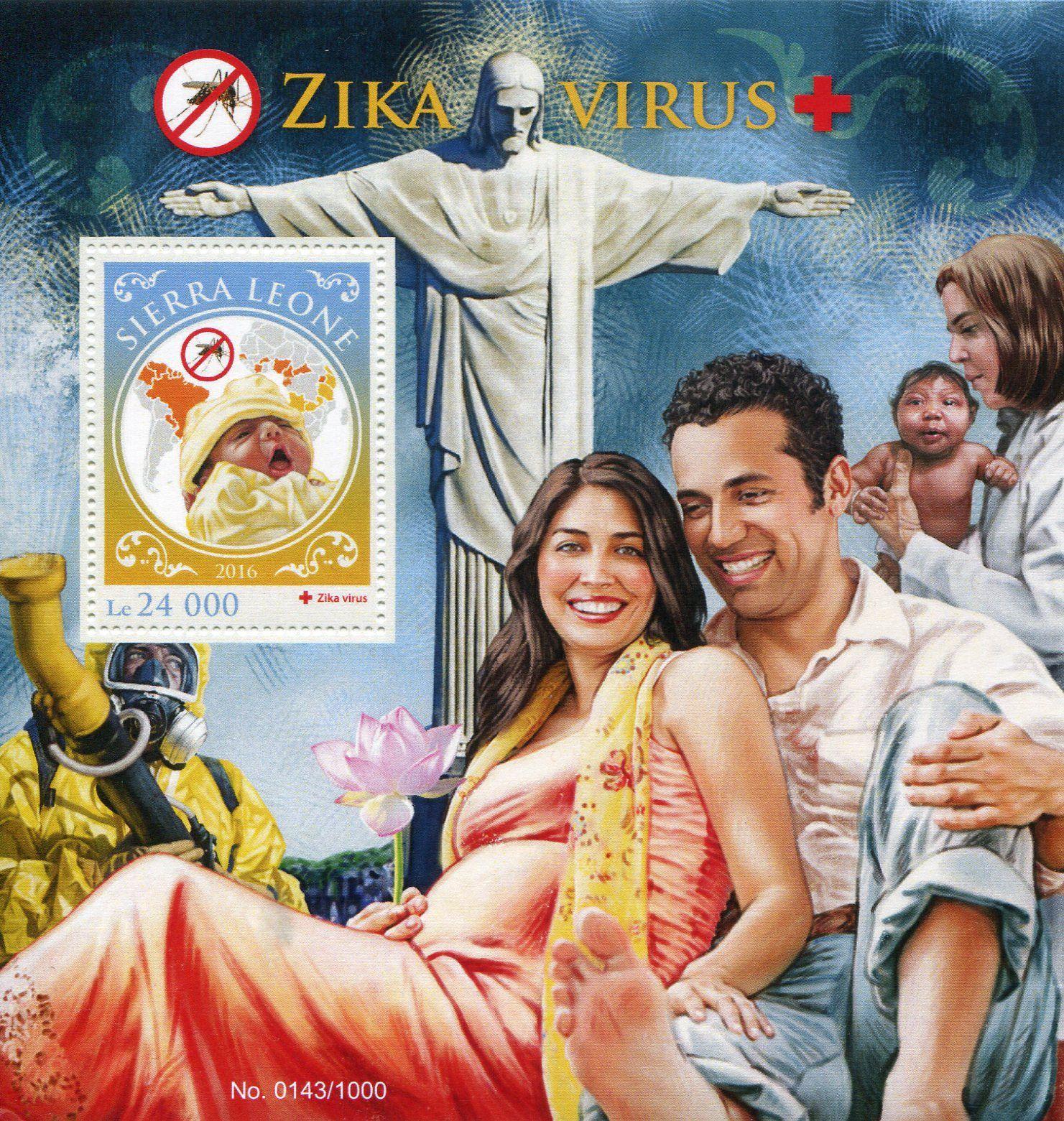 Francobolli - Virus Zika - Stamps - Sierra Leone 2016