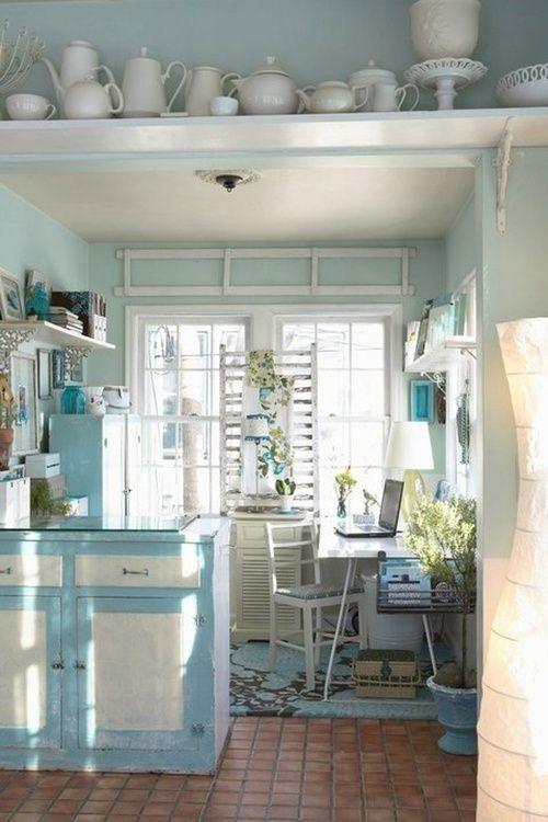 Shabby Chic Kitchen | Cucine:in copertina c\'e\'la mia! | Pinterest ...