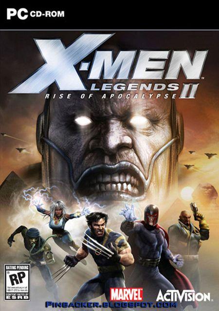 X Men Legends 2 Rise Of Apocalypse Español Multi Game Pc Rip Hombres X Descarga Juegos Juegos Retro