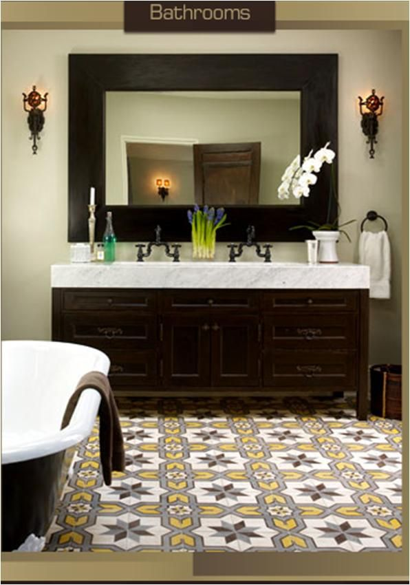21 Bold Patterned Tile Floors With Punch Designed Spanish
