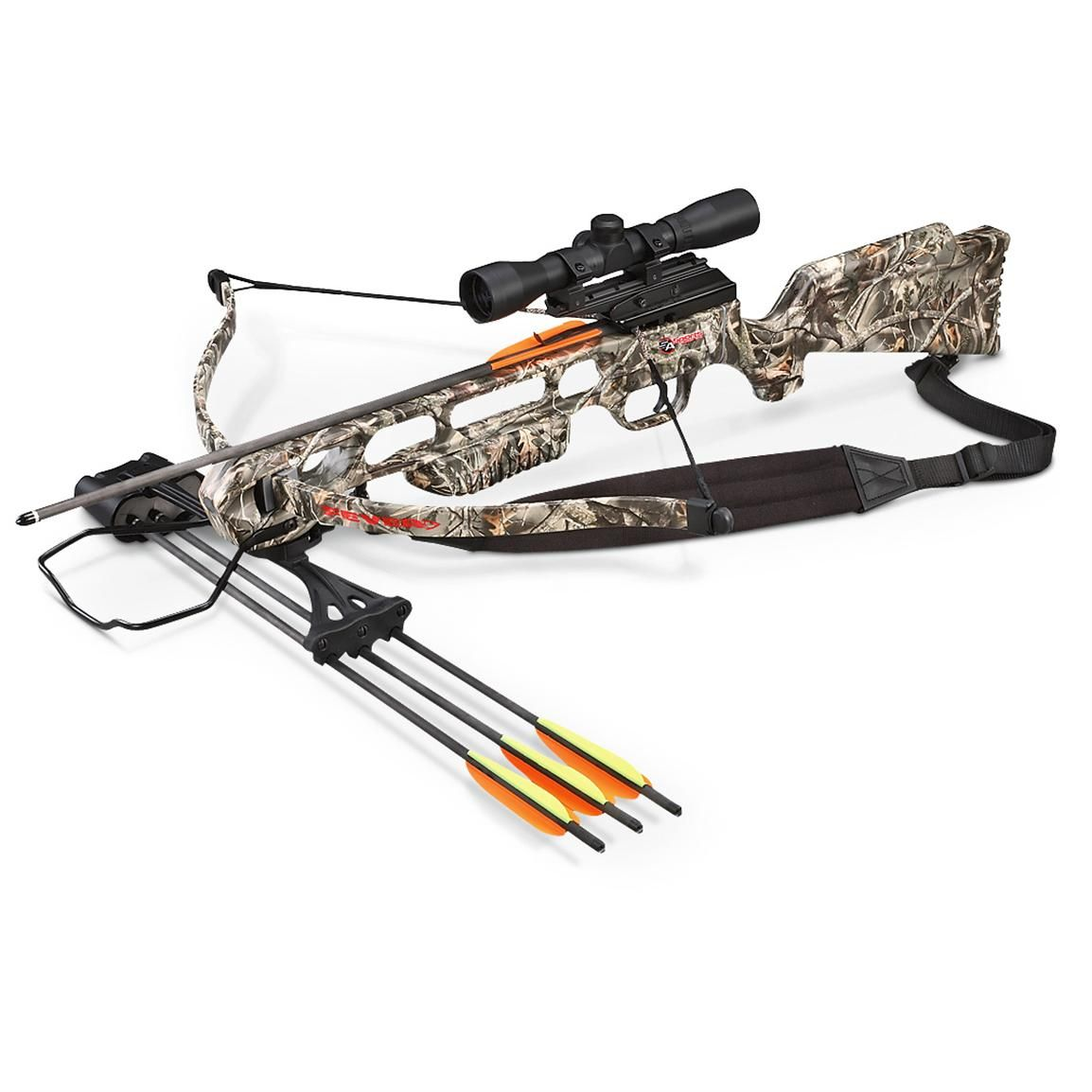 Camo crossbow. Crossbow package, Crossbow, Bow hunting gear