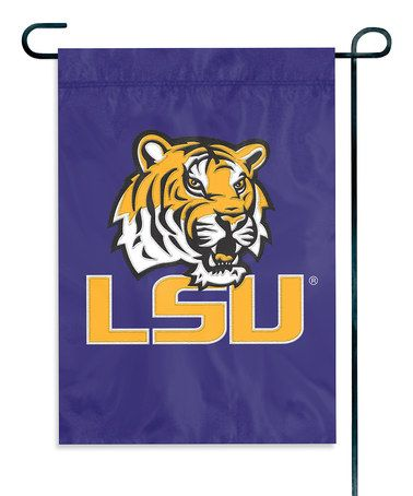 This Louisiana State Tigers 15'' Garden Flag is perfect! #zulilyfinds