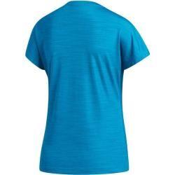 Photo of Adidas Women's Shirt Short Sleeve Bos Logo Tee, size S in blue adidasadidas