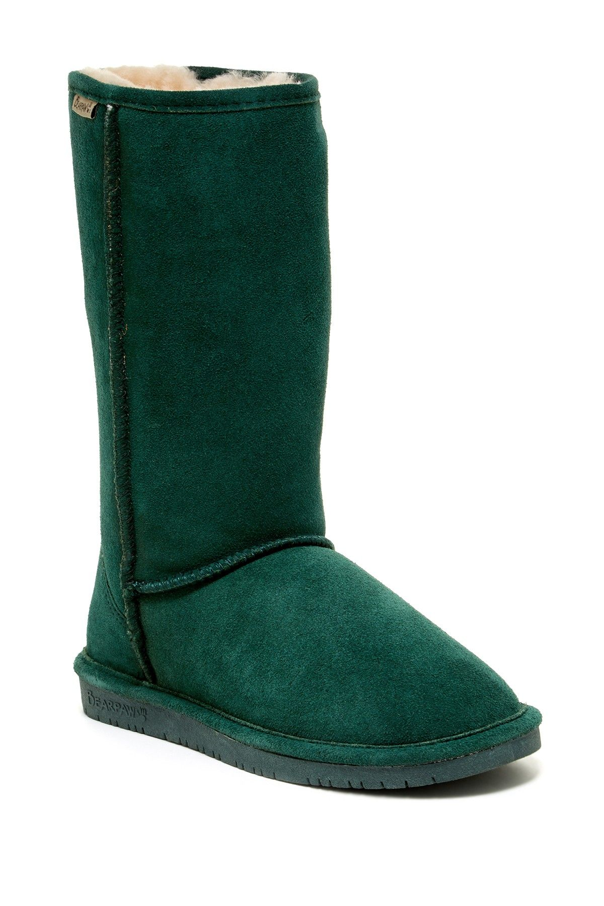 76bb89485f Emma Tall Genuine Sheepskin Lined Boot by BEARPAW on  nordstrom rack