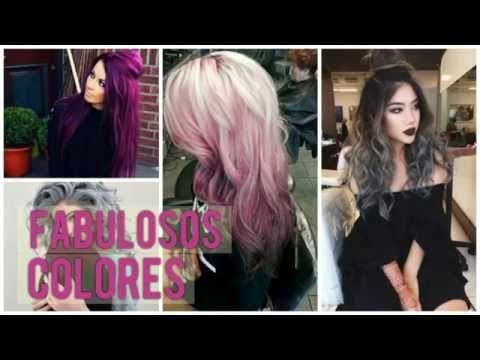 Colores para el cabello | MODA 2016 - YouTube