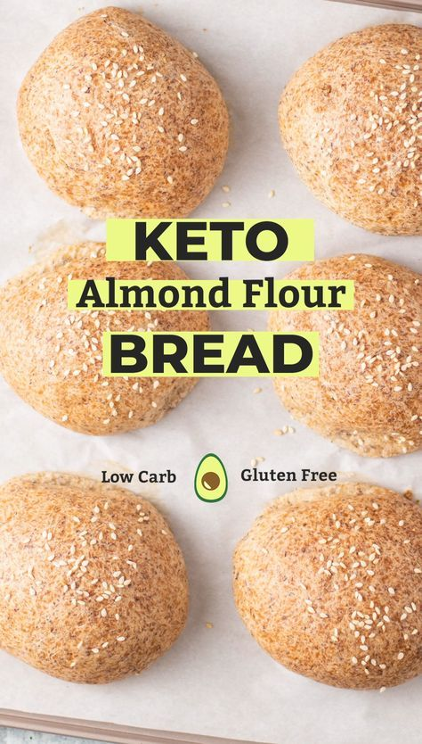 Keto Bread Rolls - blissfullylowcarb.com