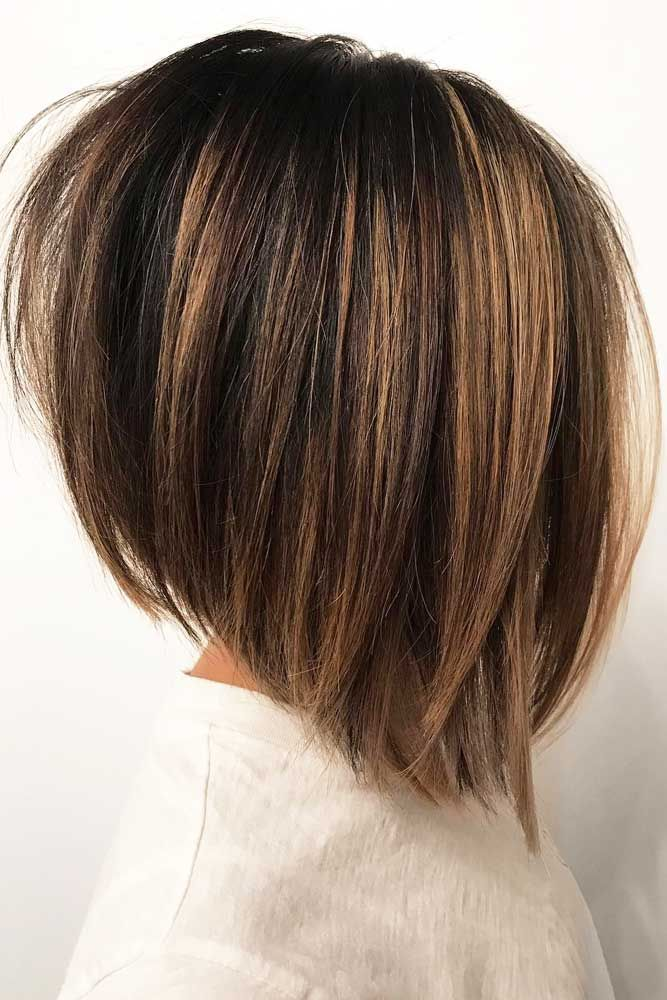 35 Stunning Shoulder Length Bob Ideas For Every Woman Thick Hair Styles