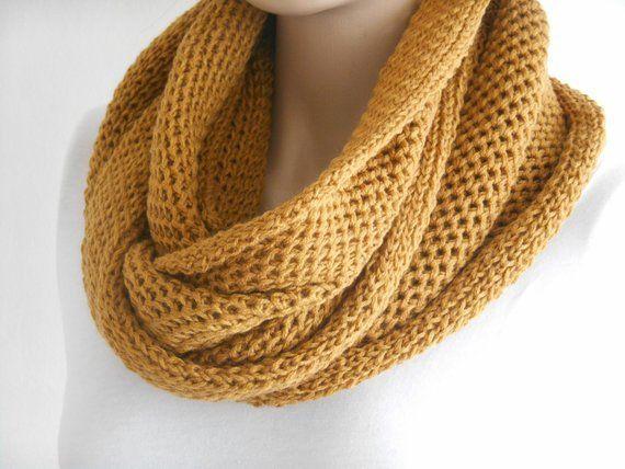 #men #scarves #mustard #menfashion #menscarf #winter #knitted #mengift #mensscarves