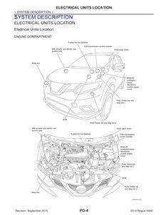 2016 Nissan Rogue Model T32 series, OEM Service and Repair