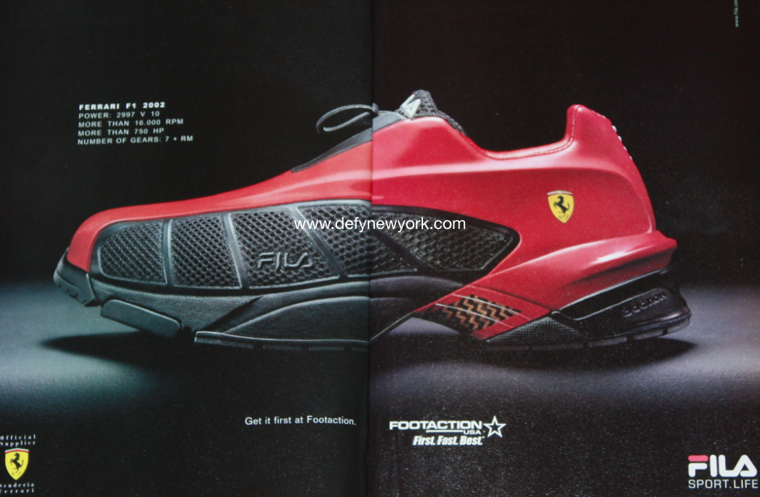 quality design a8dc4 1ca11 Fila x Ferrari  Im An Addict For Sneakers  Sneakers, Fashion