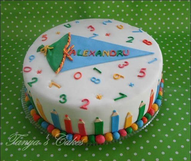 Torte Für Die Einschulung Rezepte School Cake Cake Und Starting
