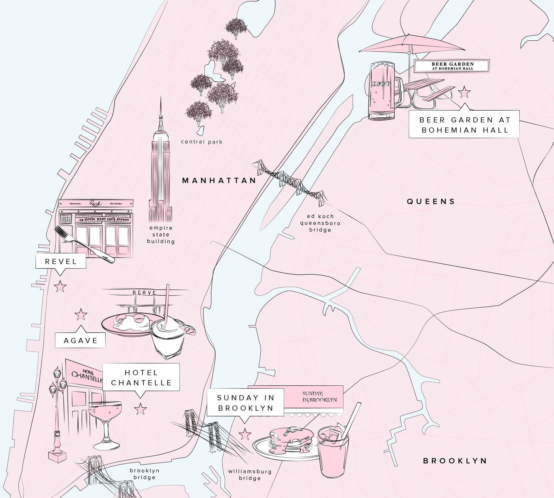 Pin by Olivia Lane Lambert on NYC in 2020 Brunch spots
