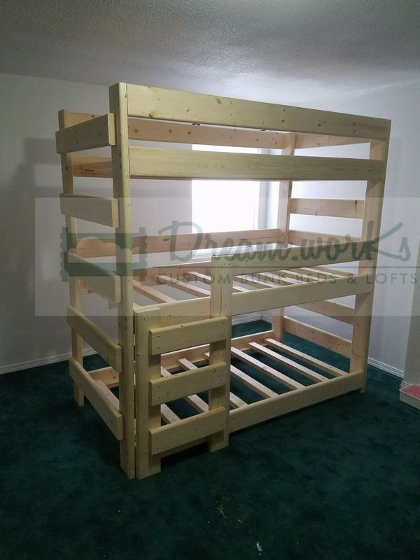 the best attitude 18861 e5c67 Triple bunks for Sale in Portland, OR in 2019 | Burke beds ...