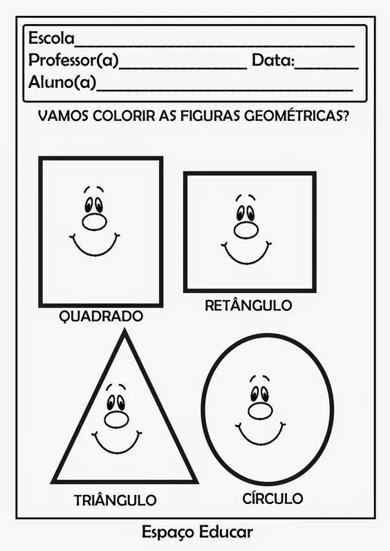 70 Atividades Com Formas Geometricas Educacao Infantil E Maternal Para Imprimir Online Cursos Gratuitos Formas Geometricas Educacao Infantil Atividades Com Formas Geometricas Atividades Com Formas
