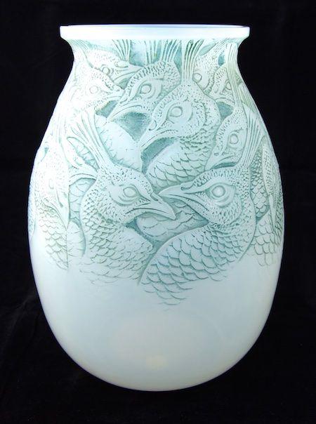 Home Lalique Vases 2 Kark Hersey Pinterest Glass Art And