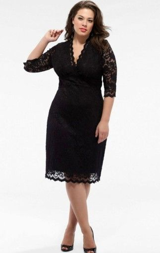 plus size semi formal dresses | Plus size black dresses ...