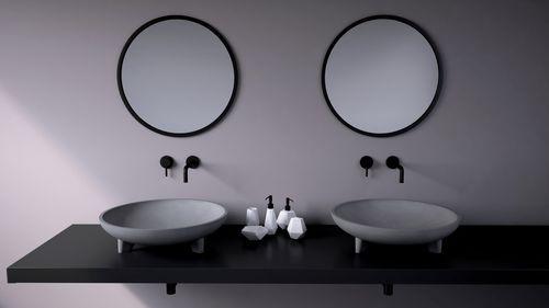 Vasque à poser / ronde / en béton / contemporaine CALDERA Urbi et ...