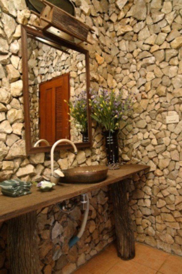 Rustikale Badezimmer 23 fantastische rustikale badezimmer design ideen rustikal
