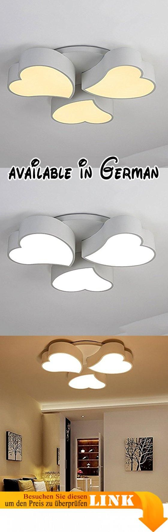 Deckenleuchten Einfache, Moderne LED Kreative Hochzeit Zimmer Dimmen  Getönte Bügeleisen Deckenleuchte Schlafzimmer Warm Romantischen Studie  Wohnzimu2026