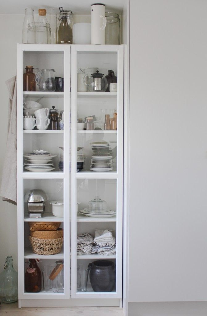 contemporary china cabinets in kitchen - Google Search ...