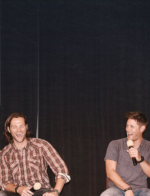 Jensen & Jared This just makes me smile <3 #JensenAckles #JaredPadalecki
