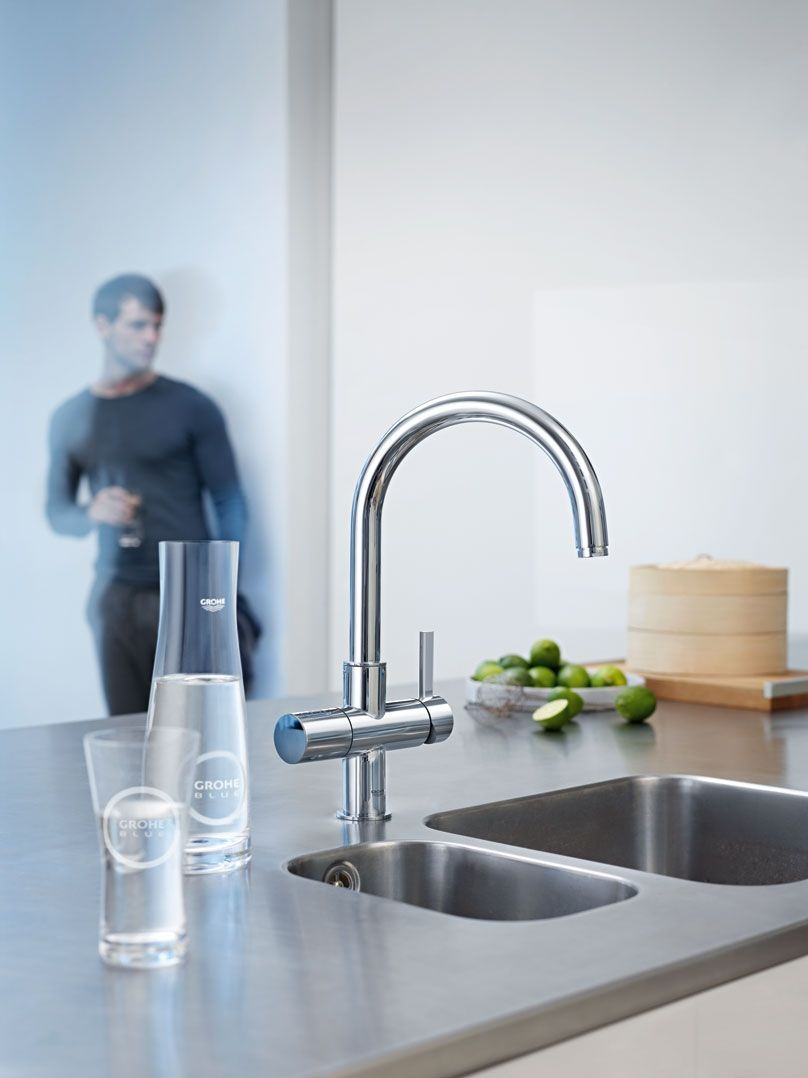 GROHE Blue® Pure Faucet | Tap | Pinterest | Water filters, Faucet ...