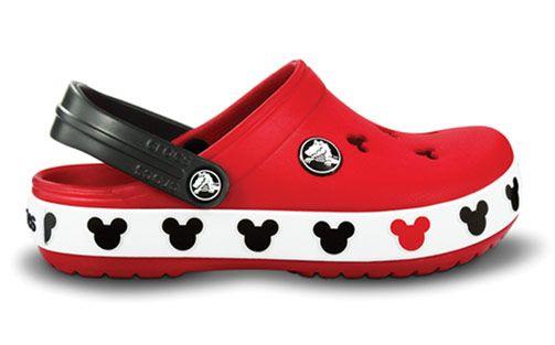 Mickey crocs! oh, my gosh I love my red