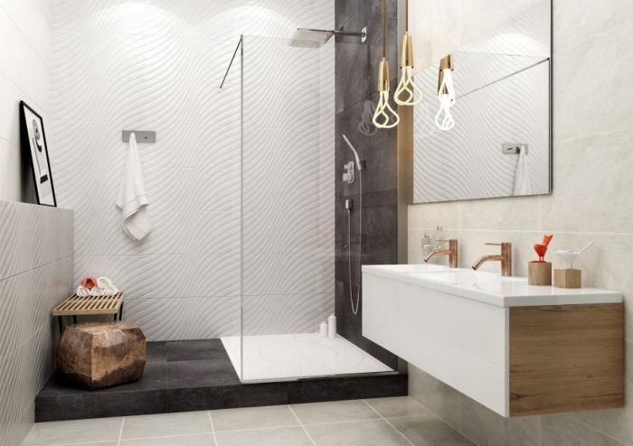 ▷ 1001 + modèles impressionnants de la salle de bain blanche
