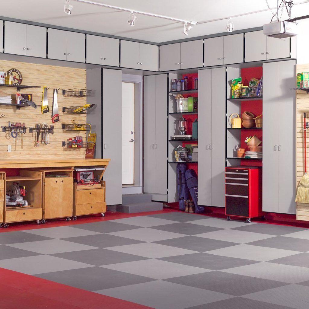 Diy Garage Storage Favorite Plans: DIY Wooden Garage Cabinets In 2020