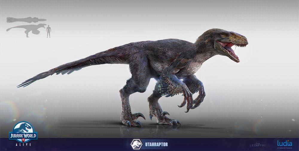 ArtStation Jurassic World Utahraptor / Miragaia