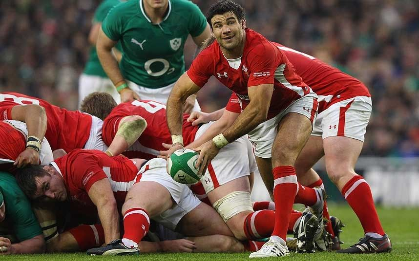 Mike Phillips British And Irish Lions Backs In Pictures British And Irish Lions British Lions Welsh Rugby