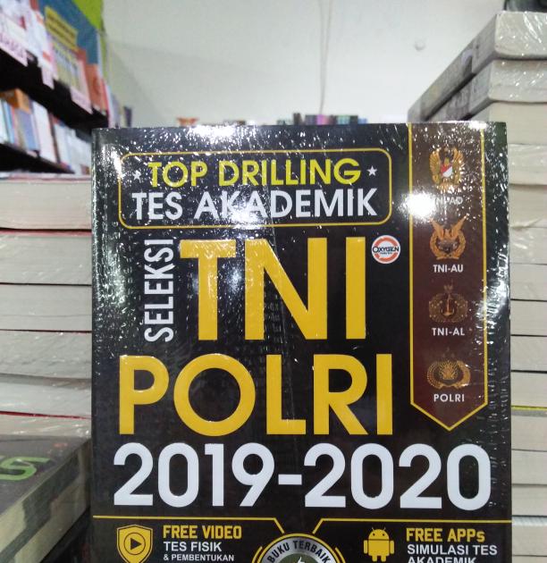 Jual Top Drilling Tes Akademik Seleksi Tni Polri 2019 2020 Kab Bantul Seribu Buku Tokopedia Contoh Soal Pengetahuan Umum Brigadir Polri Buku Perbaikan Huruf