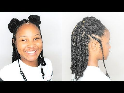 Pin On Natural Black Hair Styles For Little Brown Girls Hair