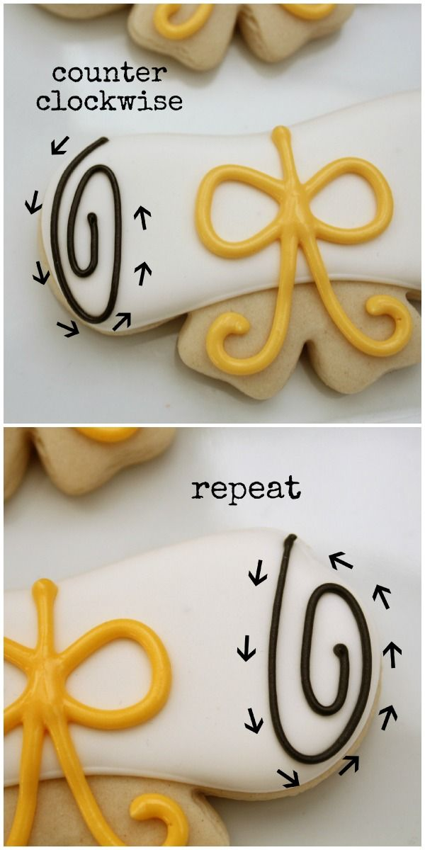 How-to guide for decorating grad cookies. Wilton makes a grad cookie cutters set.