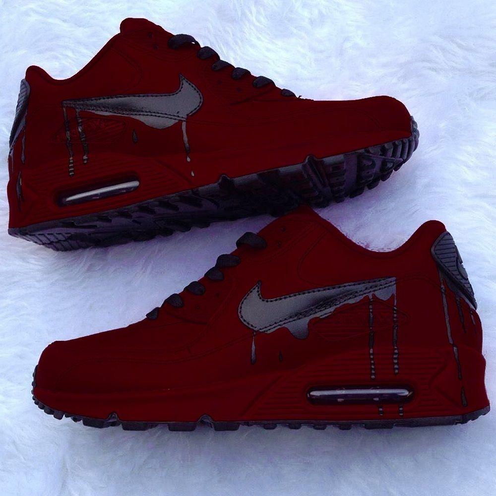 Nike Air Max 90 Custom Sneaker Sneakers Fashion Nike Air Shoes Sneakers Men