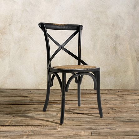 Cadence Dining Side Chair In French Black