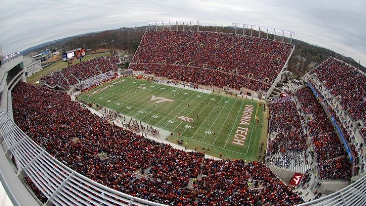 Lane stadium Hokies, Virginia tech football, Virginia tech