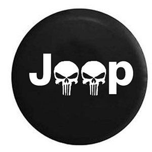 Punisher Logo Jeep Skulls Spare Tire Cover Jeep Punisher Skull Sparetirecover Tirecover Jeepwrangler Jeep Tire Cover Jeep Wrangler Tire Covers Jeep Gear