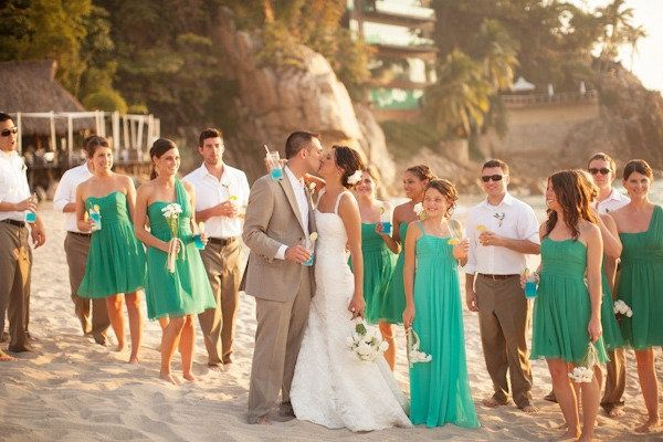 10 Beautiful Wedding Color Combinations | Spring wedding colors ...