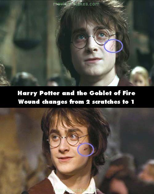 The Biggest Mistakes In The Harry Potter Movies Harry Potter Goblet Harry Potter Movies Harry Potter Pictures