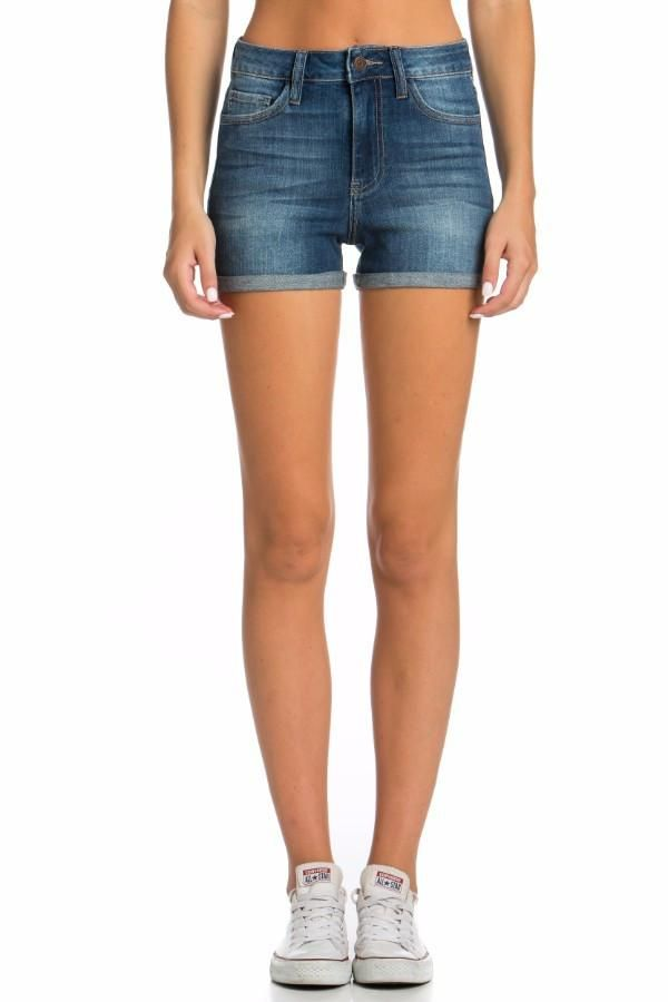 b39cc6134a Cello Jeans Mid-Rise Rolled Cuff Shorts | SHORTS AND BERMUDAS ...