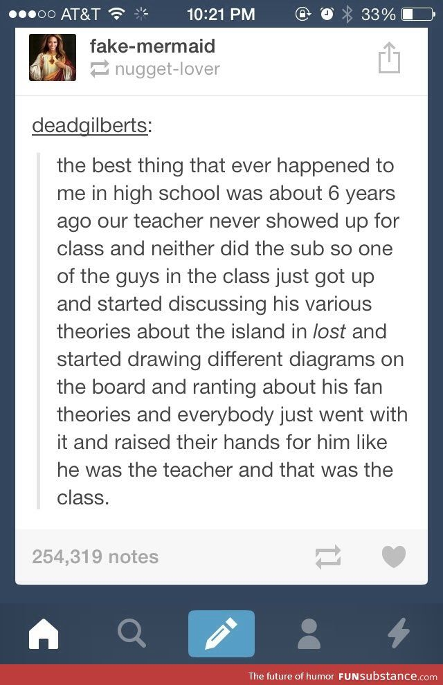 Tumblr fanfiction at its best - FunSubstance