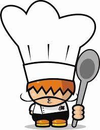 Resultado de imagen de dibujo gorro de cocinero | Comedores ...