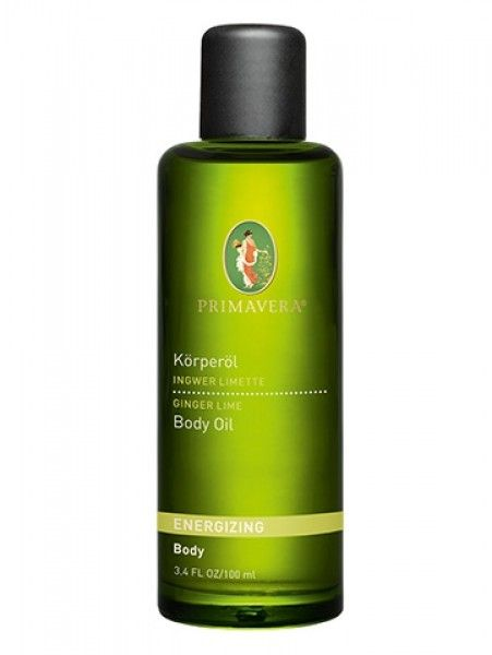 Primavera Ingwer Limette Körperöl