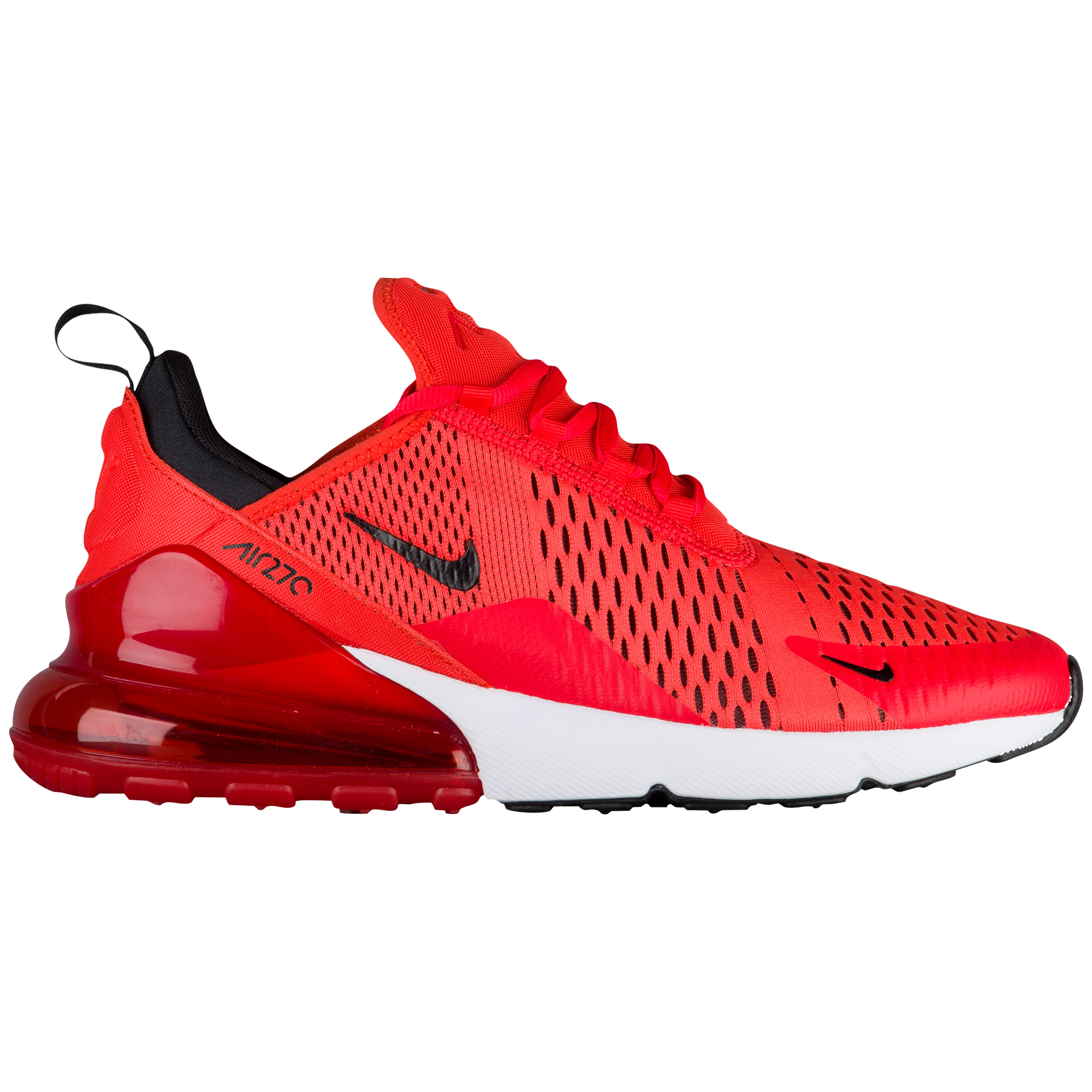 big sale a6076 d86fa Footaction - Men's Nike Air Max 270 - Habanero Red/Black ...
