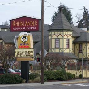 The Rhinelander Best German Food German Oregon Pictures