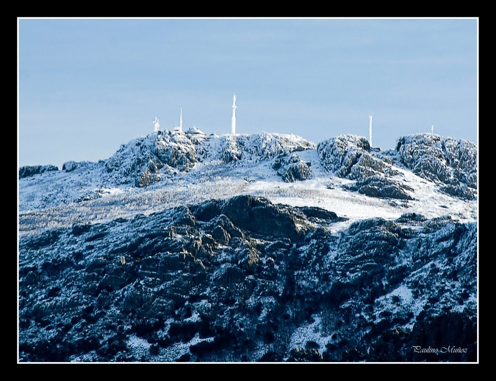 Pico Villuercas nevado