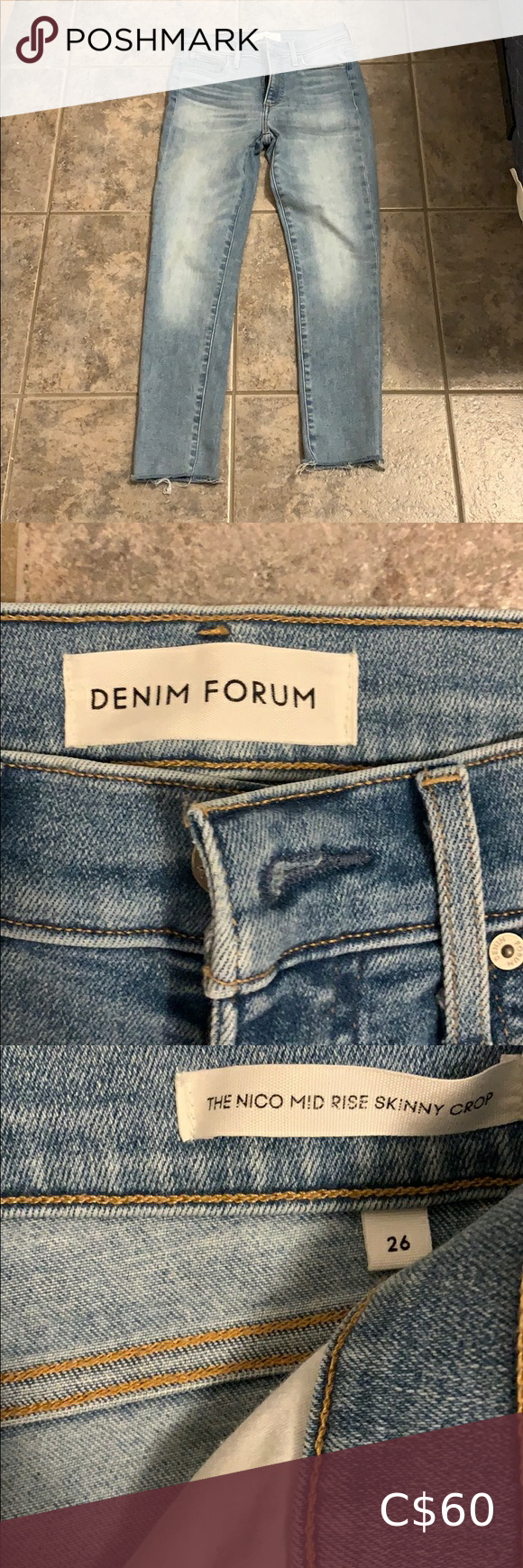 Photo of Denim Forum jeans size 26